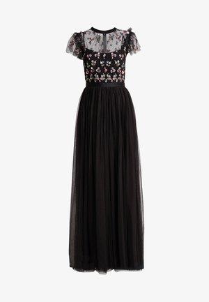 ROCOCO BODICE MAXI DRESS - Festklänning - ballet black