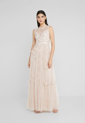 SHIMMER DITSY GOWN - Occasion wear - pearl rose