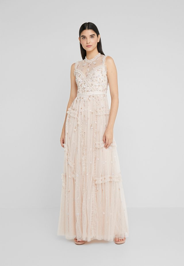 SHIMMER DITSY GOWN - Suknia balowa - pearl rose