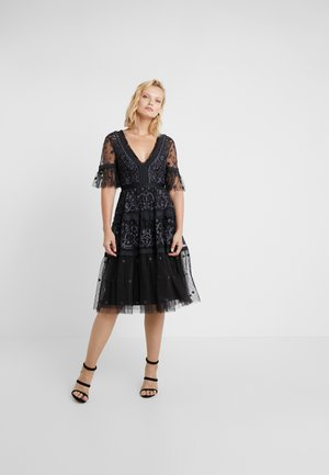 MIDSUMMER LACE DRESS - Vestito elegante - ballet black