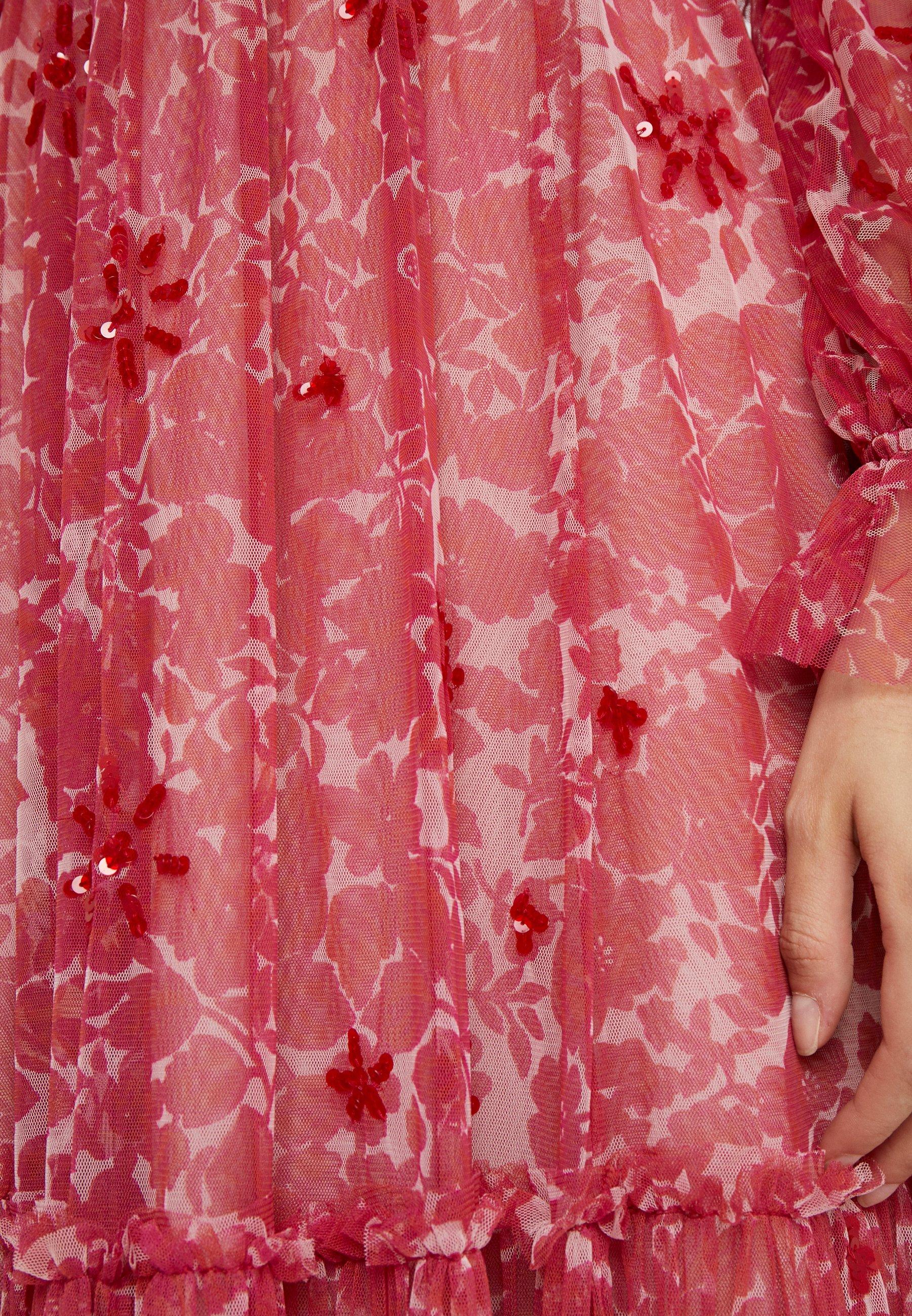 Needle & Thread ANYA EMBELLISHED GOWN - Długa sukienka - cherry red