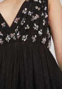 Needle & Thread - NEVE EMBELLISHED BODICE MAXI DRESS - Ballkjole - ballet black - 5