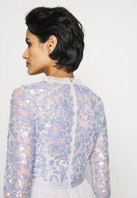 Needle & Thread - TEMPEST BODICE MAXI DRESS - Iltapuku - periwinkle purple - 4