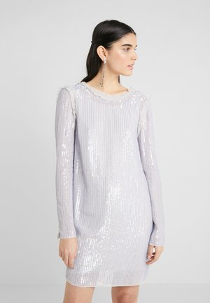 SHIMMER MINI DRESS - Cocktailklänning - periwinkle purple