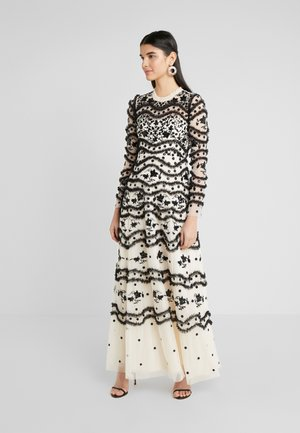 RUFFLE BLOOM - Occasion wear - champagne/graphite