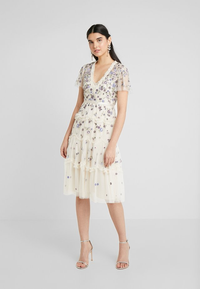 PRARIE FLORA DRESS - Day dress - champagne