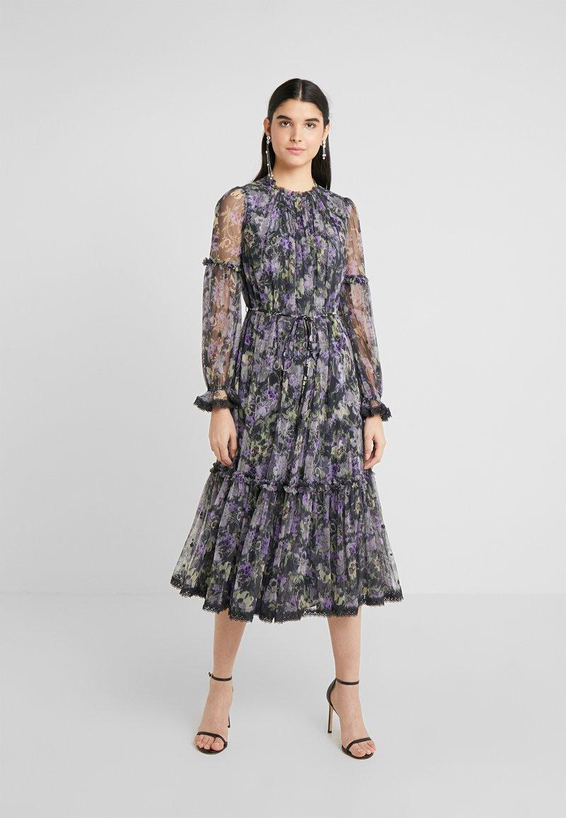 Needle & Thread - DITSY BALLERINA DRESS - Cocktailjurk - graphite