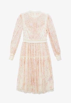 THORN MINI DRESS - Robe de soirée - champagne/pink