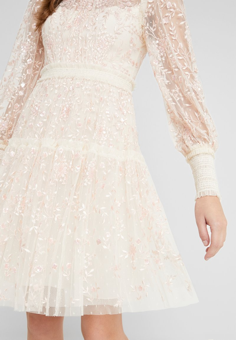 THORN MINI DRESS - Cocktailkleid/festliches Kleid - champagne/pink