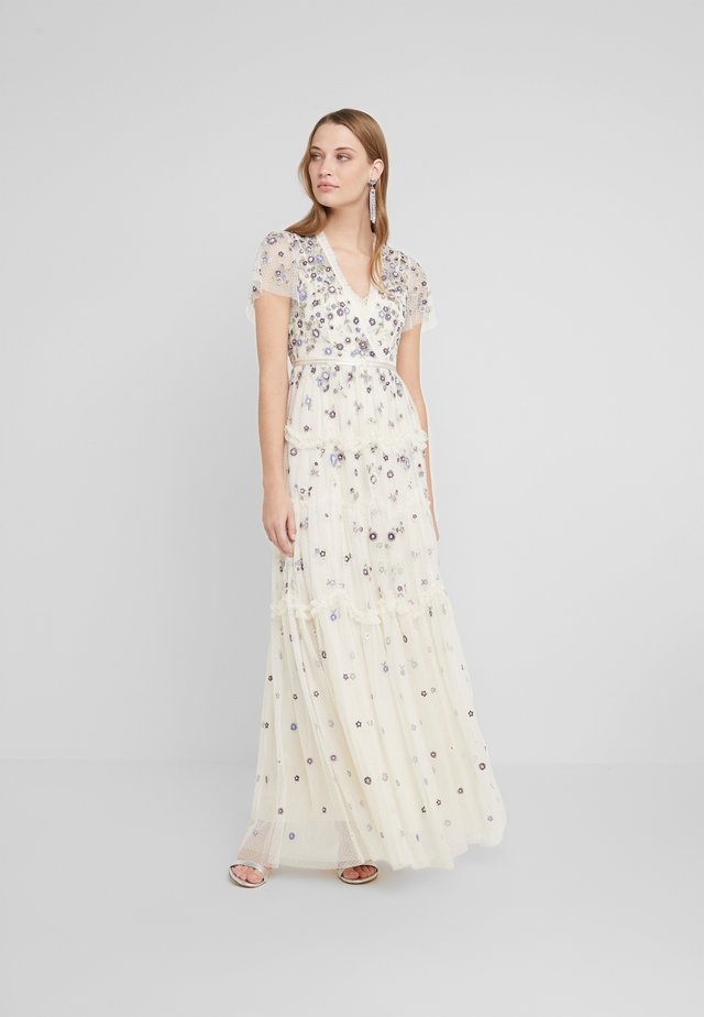 PRARIE FLORA GOWN - Occasion wear - champagne