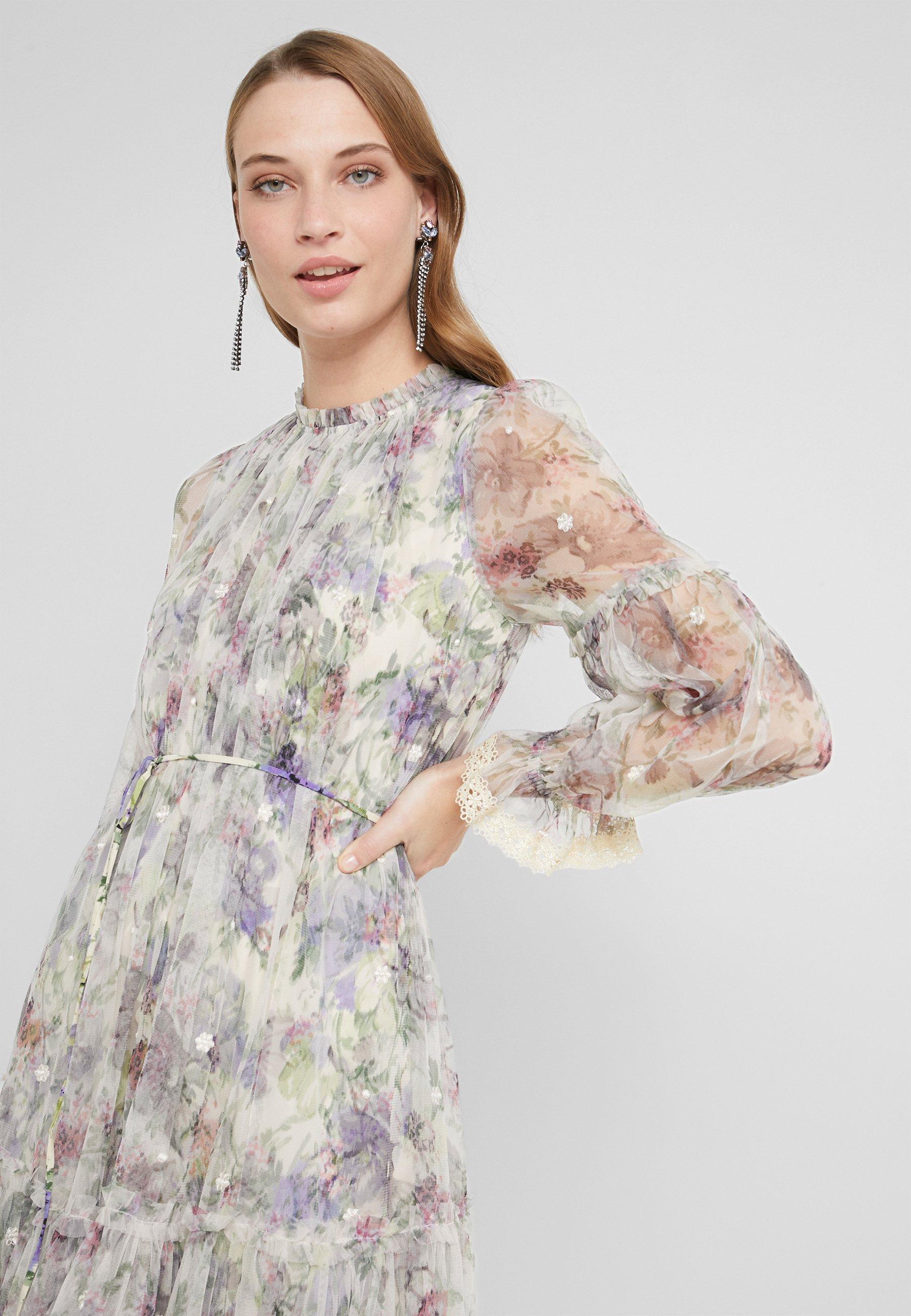Needle & Thread DITSY DRESS - Sukienka letnia - champagne