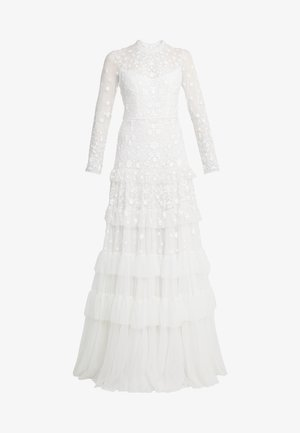 GRACIE LONG SLEEVED BRIDAL GOWN - Robe de cocktail - ivory