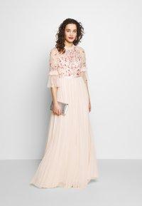 Needle & Thread - BUTTERFLY MEADOW BODICE MAXI DRESS - Ballkjole - pink - 1