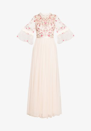BUTTERFLY MEADOW BODICE MAXI DRESS - Galajurk - pink