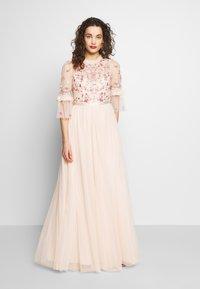 Needle & Thread - BUTTERFLY MEADOW BODICE MAXI DRESS - Ballkjole - pink - 0