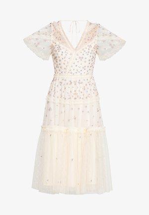 RUFFLE GLIMMER DRESS - Vestito elegante - offwhite