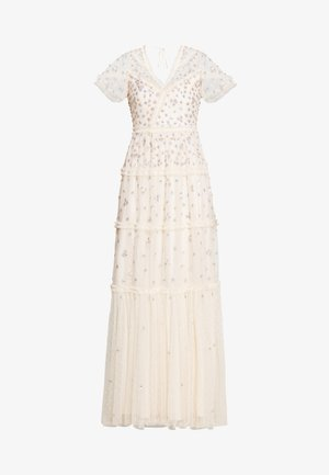 RUFFLE GLIMMER GOWN - Gallakjole - off-white