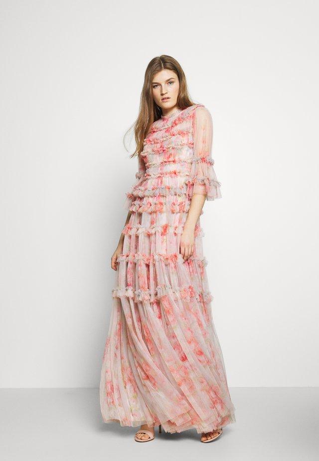 BELLEFLOWER GOWN - Festklänning - pink