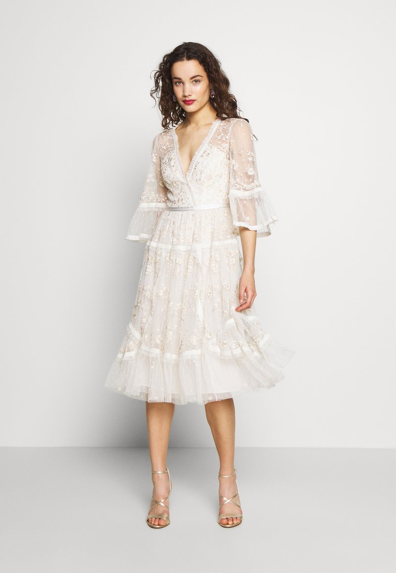 Needle & Thread - PENNYFLOWER DRESS - Cocktail dress / Party dress - white
