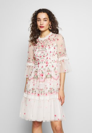 BUTTERFLY MEADOW DRESS - Cocktail dress / Party dress - white