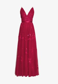 Needle & Thread - PETUNIA GOWN  EXCLUSIVE - Iltapuku - deep red - 4