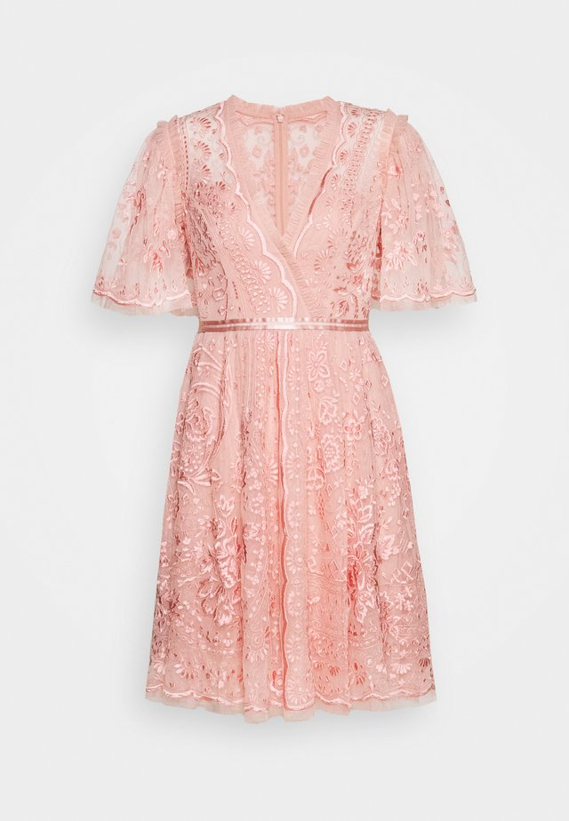 TRUDY BELLE MINI DRESS - Day dress - desert pink