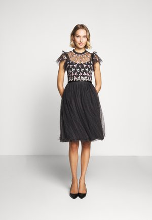 ROCOCO BODICE MIDI DRESS EXCLUSIVE - Vestito elegante - graphite