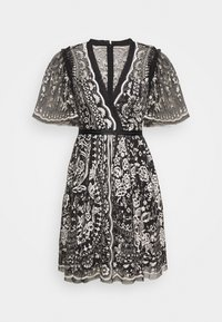 Needle & Thread - TRUDY BELLE MINI DRESS - Vestito elegante - graphite/champagne - 0
