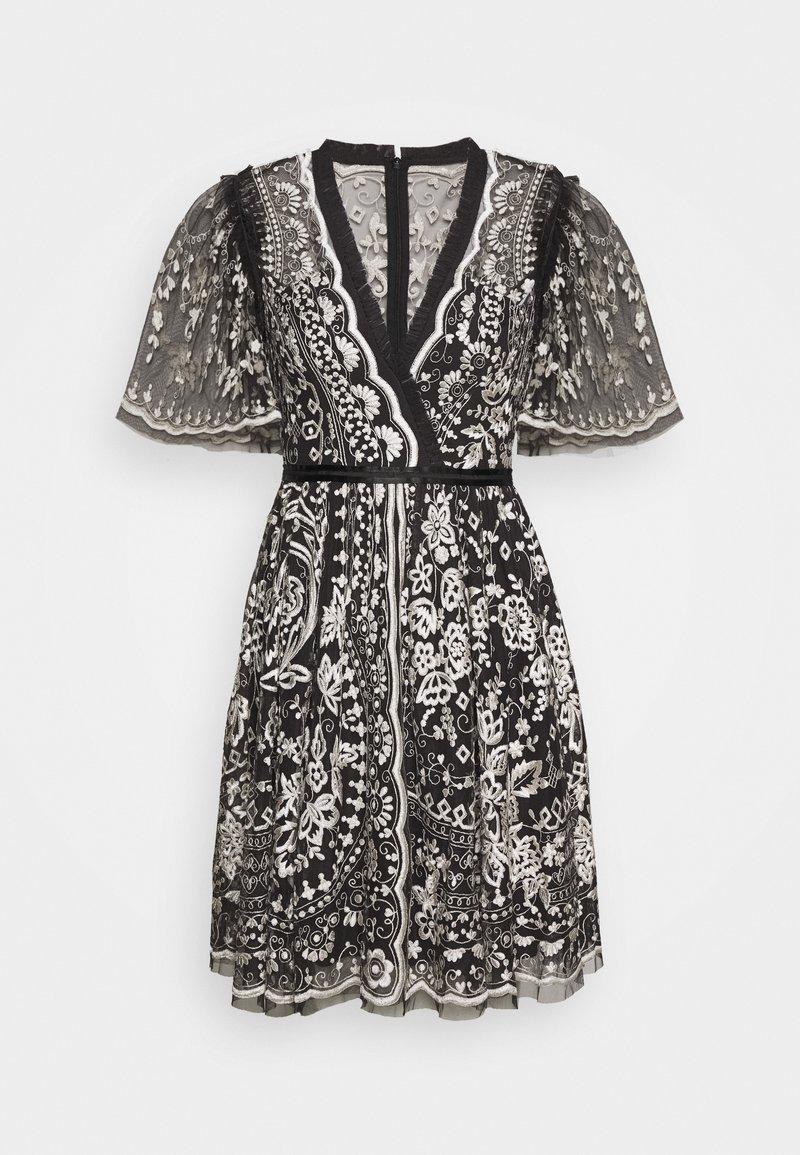 Needle & Thread - TRUDY BELLE MINI DRESS - Vestito elegante - graphite/champagne