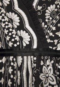 Needle & Thread - TRUDY BELLE MINI DRESS - Vestito elegante - graphite/champagne - 2