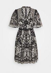 Needle & Thread - TRUDY BELLE MINI DRESS - Vestito elegante - graphite/champagne - 1