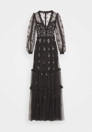 PENELOPE SHIMMER GOWN - Galajurk - graphite