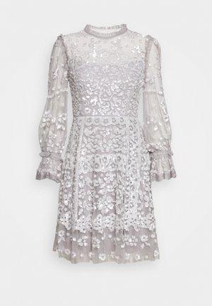 PATCHWORK SEQUIN DRESS EXCLUSIVE - Vestito elegante - dusk blue