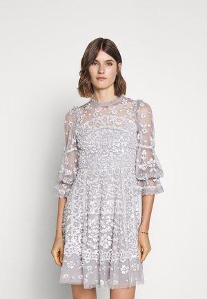PATCHWORK DRESS EXCLUSIVE - Sukienka koktajlowa - dusk blue