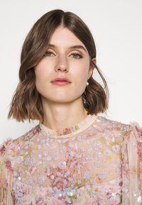 Needle & Thread - FLORAL DIAMOND BODICE DRESS - Vestido de fiesta - pink - 5