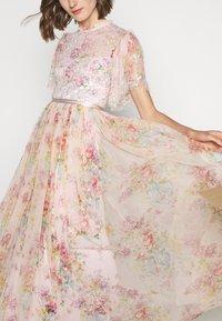 Needle & Thread - FLORAL DIAMOND BODICE DRESS - Vestido de fiesta - pink - 7