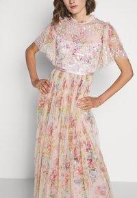 Needle & Thread - FLORAL DIAMOND BODICE DRESS - Vestido de fiesta - pink - 4