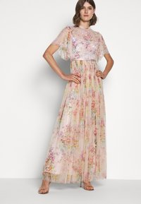 Needle & Thread - FLORAL DIAMOND BODICE DRESS - Vestido de fiesta - pink - 3