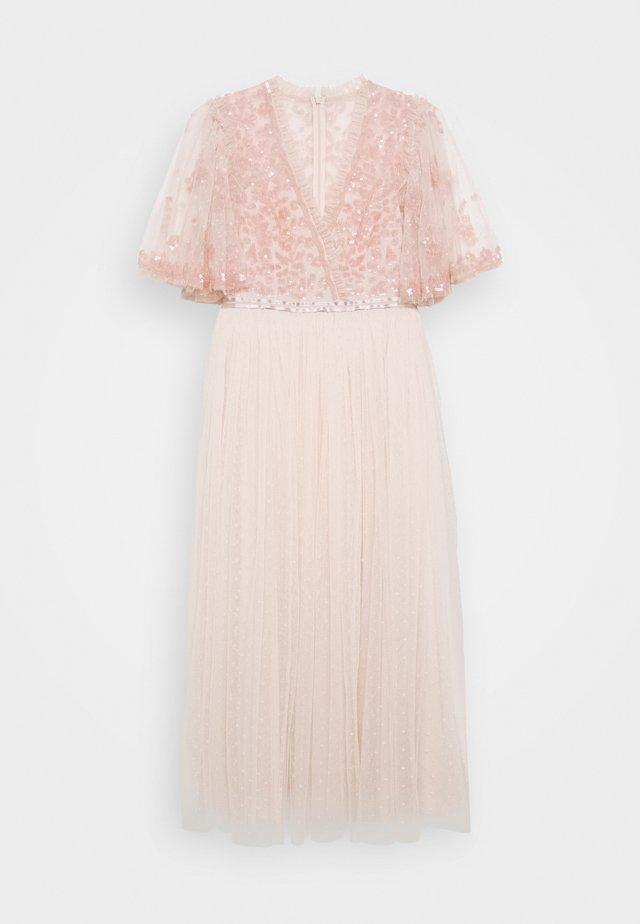 PATCHWORK BALLERINA DRESS - Cocktail dress / Party dress - ballet slipper/pink