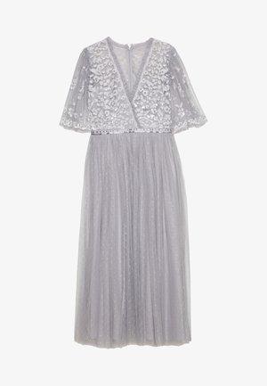 PATCHWORK BODICE BALLERINA DRESS EXCLUSIVE - Cocktail dress / Party dress - dusk blue