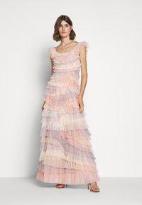 Needle & Thread - PETRA RUFFLE GOWN - Vestido de fiesta - desert rainbow - 1