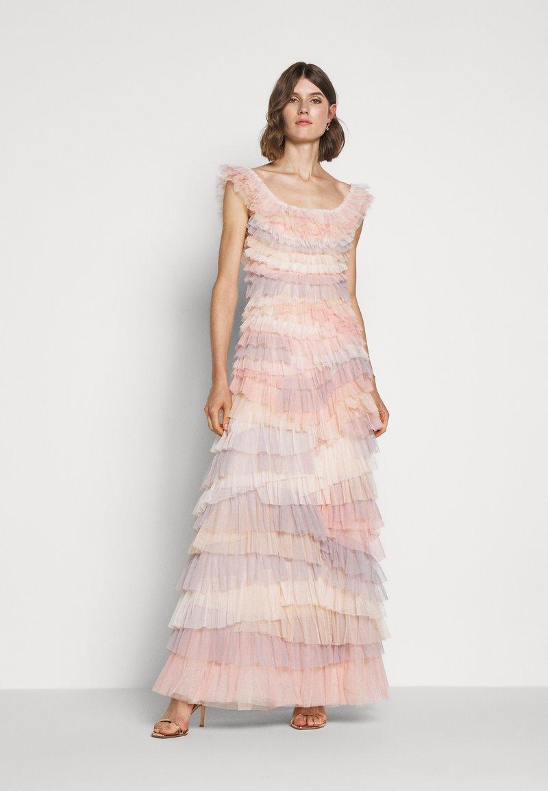 Needle & Thread - PETRA RUFFLE GOWN - Vestido de fiesta - desert rainbow