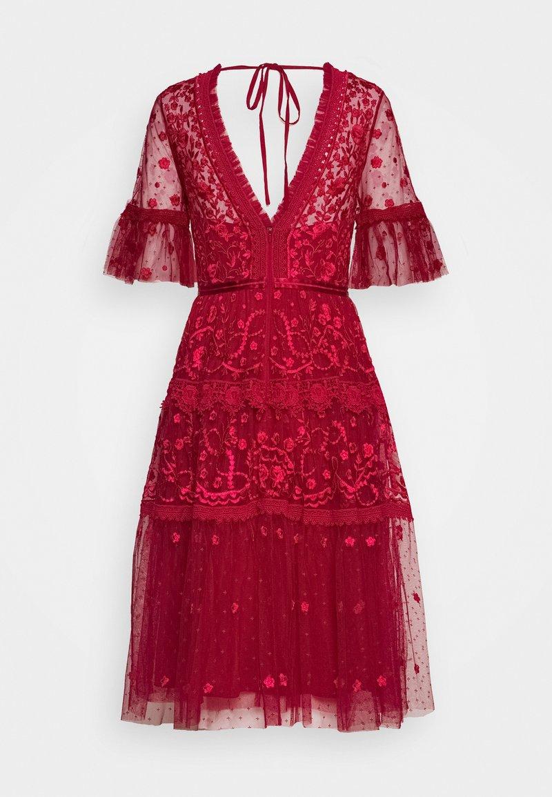 Needle & Thread - MIDSUMMER DRESS EXCLUSIVE - Vestito elegante - deep red