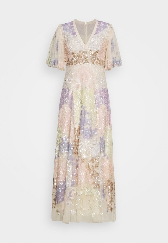 ELIZA SEQUIN ANKLE LENGTH GOWN - Ballkleid - champagne