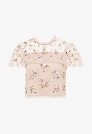 LUSTRE RUFFLE TOP - Camicetta - rose quartz