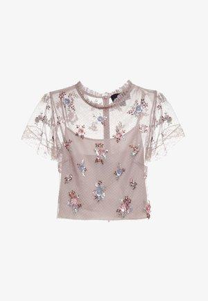 Sequin - Bluser - dusk rose