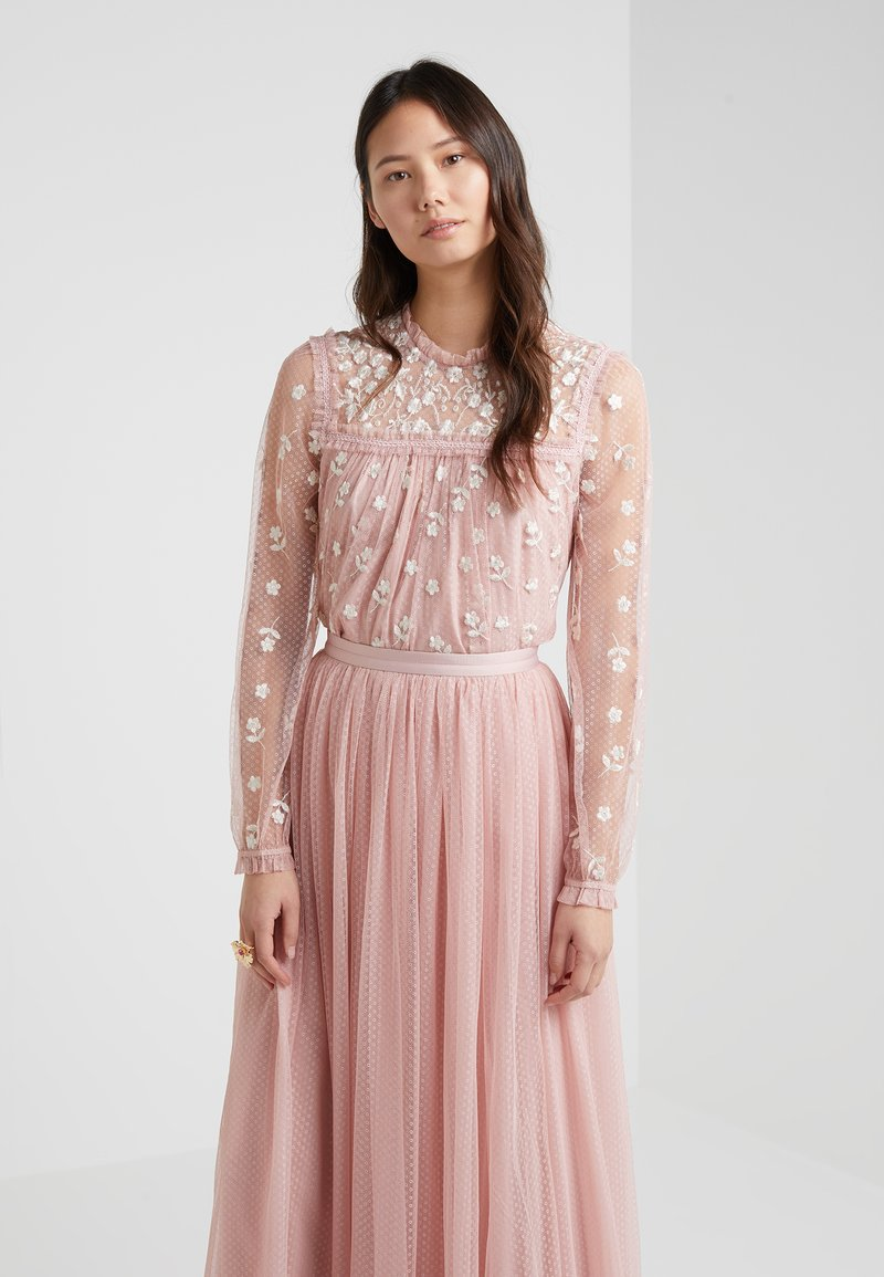 Needle & Thread - REFLECTION DITSY - Blusa - rose pink