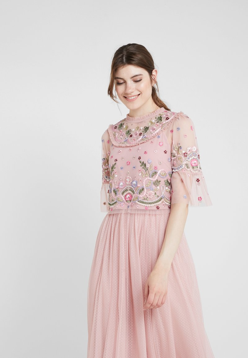 Needle & Thread - DREAMERS BODICE TOP - Blusa - rose petal