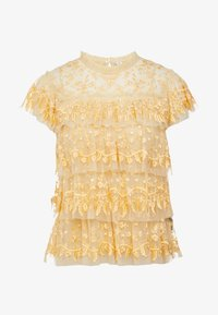 Needle & Thread - ANGELICA LACE TOP - Bluser - washed yellow - 4