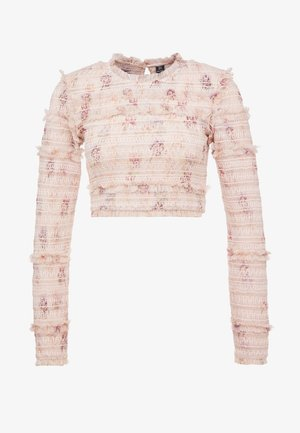 THINK OF ME SMOCKED  - Blouse - champagne
